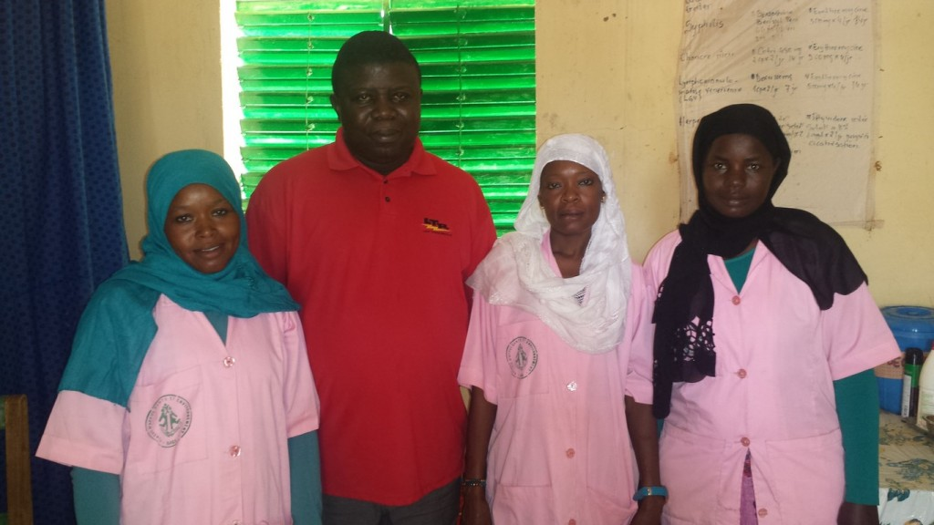 Le MCD d'Adré et les sages femmes à la maternité